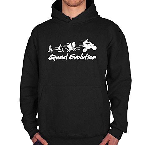 Shirtcharts Quad Evolution Hoodie Pullover Motorsport Kraka Offroad Motocross Quadzubehör
