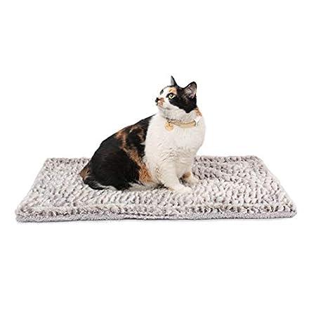 Mora Pets Selbstheizende Decke für Katzen & Hunde – Selbstwärmende Katzendecke, Wärmedecke Katze, Wärmematte Hund Größe: 70x47cm