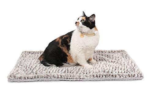 Mora Pets Selbstheizende Decke für Katzen & Hunde | Selbstheizende Decke Katze | heiz Decke Hund selbstheizend | Größe: 70x47cm
