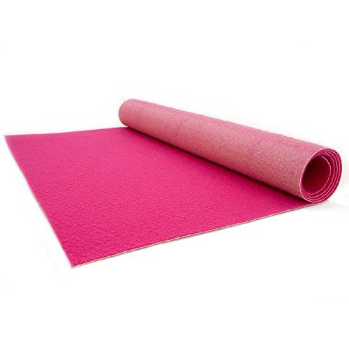 VIP Eventteppich Hochzeitsteppich - Läufer Gala Events - PODIUM | Pink | 1,00m x 4,00m