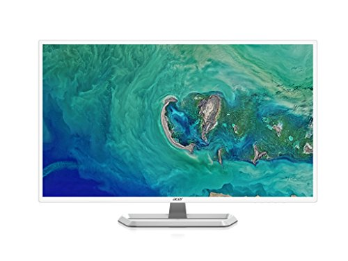 Acer EB321HQU 80cm (32 Zoll) Monitor (HDMI, DVI, DisplayPort, 4ms Reaktionszeit, WQHD Auflösung, 2560 x 1440, EEK B) schwarz/weiß