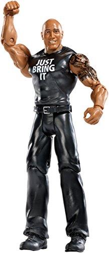 Figur WWE The Rock Basic Serie 54 Wwe The Rock Mattel