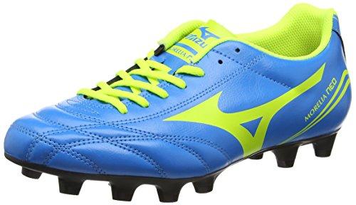 Mizuno Morelia Neo Cl Md, Scarpe da Calcio Uomo, Blu (Diva Blue/Safety Yellow), 41.5 EU