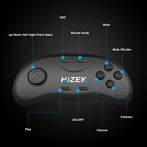 VR Bluetooth Controller Gamepads für VR Brille, iOS Android PC - 3