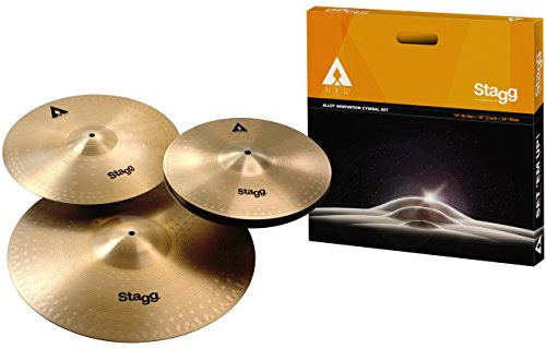 Stagg AXK SET Copper Steel Alloy Cymbal Set