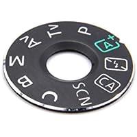 vhbw Ersatz-Drehregler, Dial Mode Plate für Kamera, DSLR Canon EOS 70D