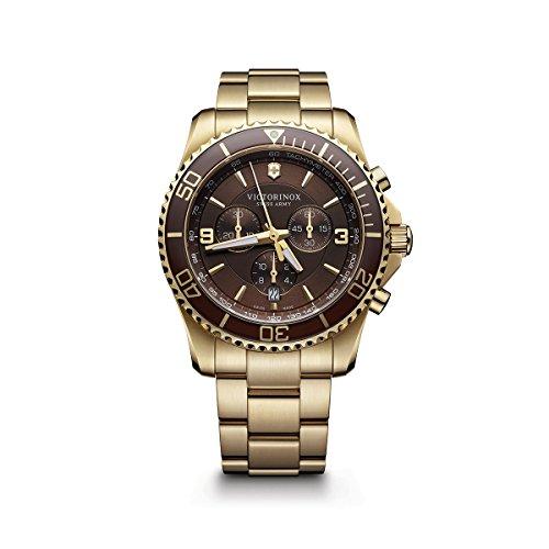 Victorinox 241691 - Orologio da polso da uomo, colore: Oro