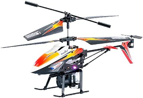 Simulus RC Heli: Ferngesteuerter Hubschrauber mit Spritzfunktion