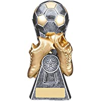 A1 PERSONALISED GIFTS Gravity Gunmetal Football Trophies
