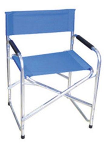 Fauteuil Metteur en Scène Bleu ciel en aluminium