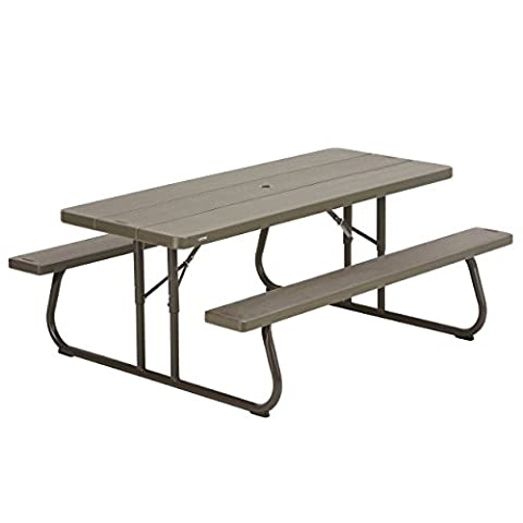 Lifetime 60112 6 ft (1.83 m) Picnic Table (brown)