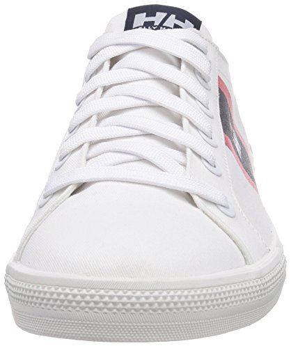 Helly Hansen Berge Viking Low, Chaussures de Sport Homme Blanc (001 White / Nav)