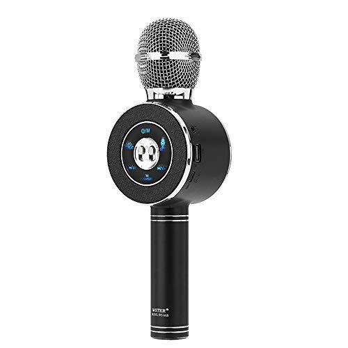 LEP Mobile Karaoke Mikrofon Computer Handheld Bluetooth Wireless Mikrofon für zu Hause und Ktv Etc,A