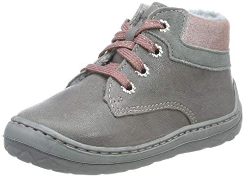 superfit Baby Mädchen SATURNUS-50033620 Sneaker, (Grau/Rosa 20), 23 EU