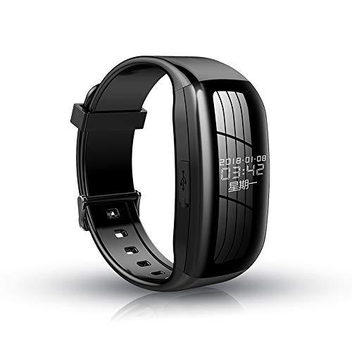 Benfa Versteckte Kamera Armband HD Mini-Camcorder Spy Camera 1080p Color Imaging, Digital Voice Recorder Uhr mit Rauschunterdrückung + Zeit- und Datumsanzeige,64GB Digitale Multifunktions-imaging