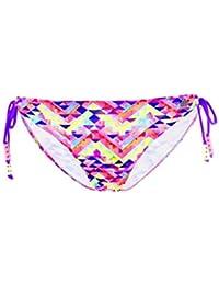 fd324429363b Bas de maillot de bain Banana Moon Teens Culotte Tetris Mix Rose Multicolore
