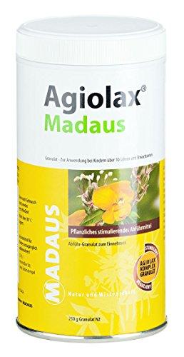 Agiolax Madaus Spar-Set 2x100g Granulat. Gegen Verstopfung gewachsen. Stimulierende und regulierende Wirkung, fördert einen weichen Stuhl.