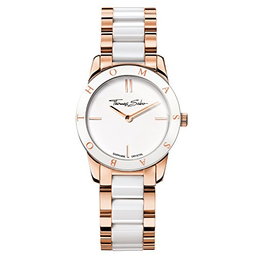 Thomas Sabo Women's Watch Soul Rose Gold White Analogue Quartz