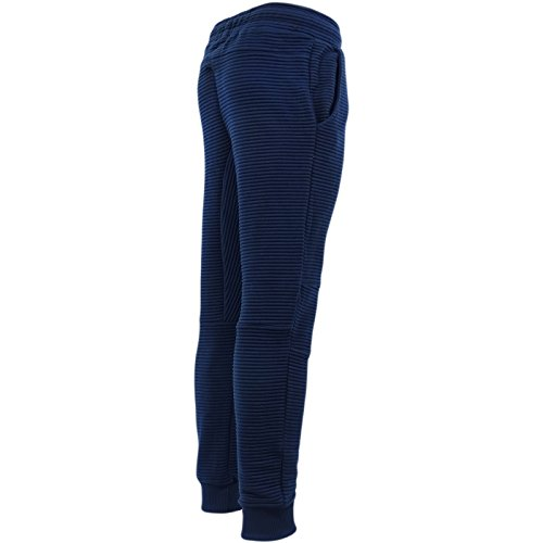 Just Hype -  Pantaloni sportivi  - Basic - Uomo Navy