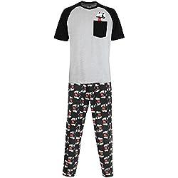 Disney Mickey Mouse - Ensembles De Pyjama - Mickey Mouse - Homme - Large