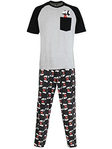 Disney Pijama para Hombre Mickey Mouse Medium