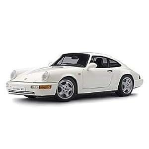 Autoart - 77894 - Voiture Miniature - Porshe 911 / 964 RS - Echelle 1/18 Blanc
