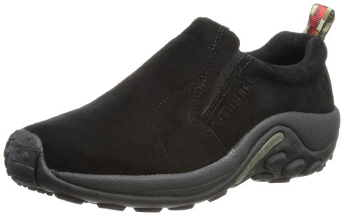 Merrell Jungle Moc Halbschuh Midnight, Black, 35