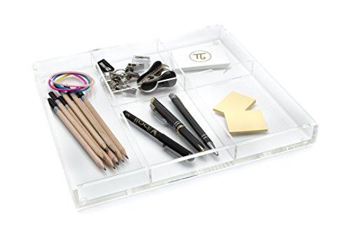 acryl-schreibtisch-schublade-organizer