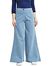 Rider Republic Women Denim Palazzo Pants