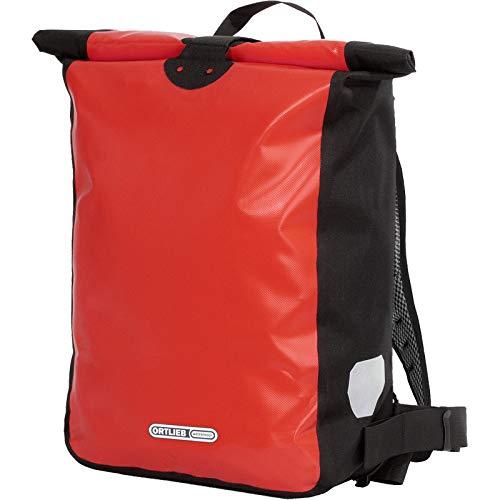Ortlieb Unisex- Erwachsene Messenger-Bag Fahrrad-Rucksack, Rot, One Size