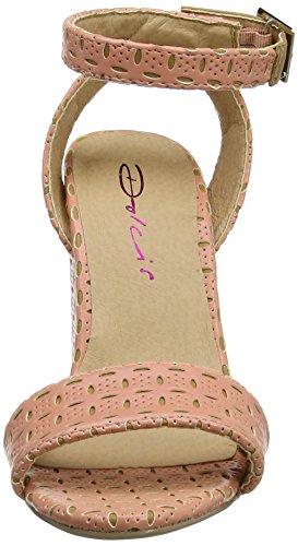 Dolcis - Palermo, Sandali da donna Rosa (Pink (Pink/Tan))