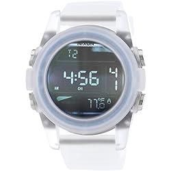 Nixon Herren-Armbanduhr XL Digital Quarz Silikon A1971780-00