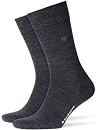 Burlington Herren Leeds So Socken, Blickdicht