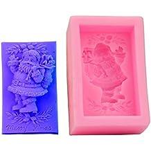 FantasyDay moldes de silicona para hielo, tartas, chocolate - 100% alimentarias y sin