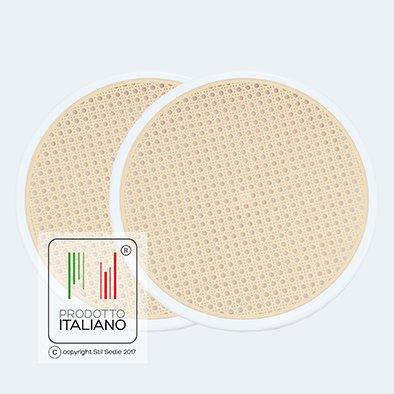 Stil Sedie - Ricambio Fondelli sedile per sedia Vienna Thonet (2bianco)