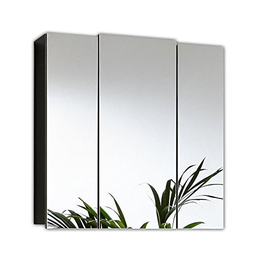 Posseik Spiegelschrank 3-türig, 68 cm