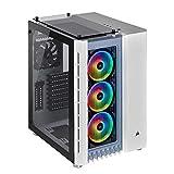 Corsair Crystal Series 680X RGB Case da Gaming, Flusso d'Aria Elevato Vetro Temperato ATX Smart, Bianco