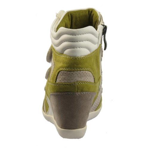 Marco Tozzi 25300-20 Sneaker synthétique cuir Light vert/gris