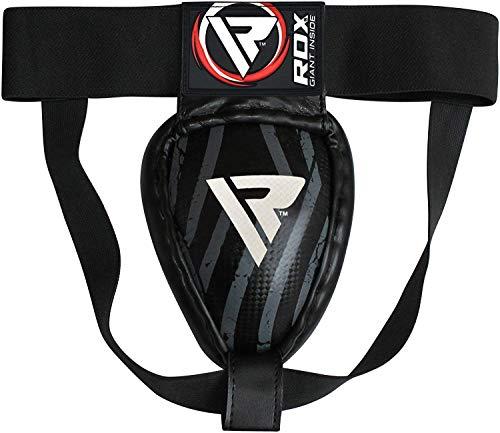 RDX MMA Boxeo Coquilla Protector Copa Boxeo Abdo Muay Thai Acero Hierro