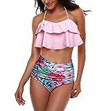 Damen Bikini watercult bademode übergröße Neckholder Weste Damen Bandeau XL Swimsuit Brazilian badeanzüge von Nike Strandkleidung sexy Bikinioberteil 80 d