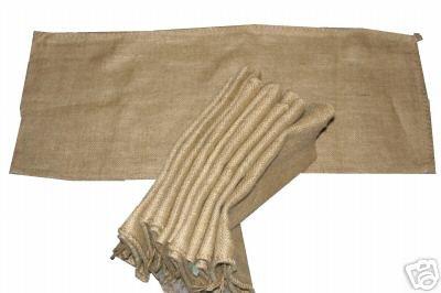 10 Säcke aus Sackleinen, ungefüllt, Sand (Sands Army White)