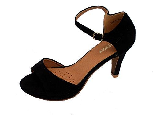 Ribelle-Scarpa Palatac per donne Nero (nero)