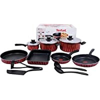 Tefal C5489382 tempo Flame Cookware Set - 14 Pieces