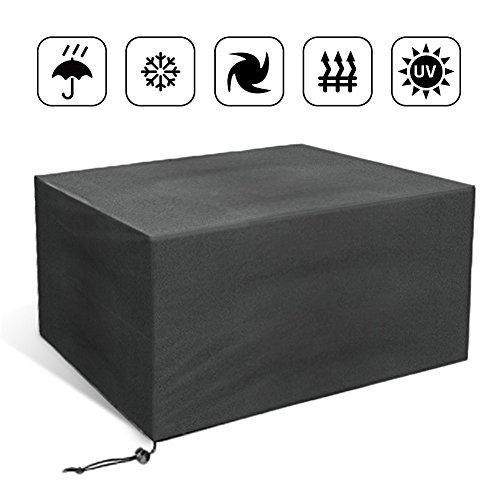 Große Abdeckung für Gartenmöbel, JIM'S STORE Möbel Schutzhülle Abdeckhaube Rechteckig Wasserdicht Schutzhülle für Gartenmöbel,213 * 132 * 74cm