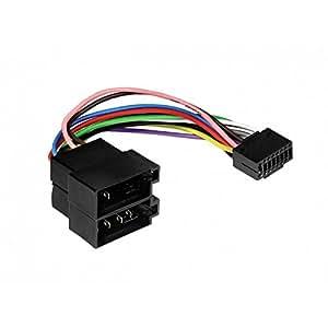 Cable able adaptateur faisceau ISO pour autoradio JVC - 16 pin connecteur