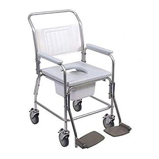 41tRpOQGCtL. SS324  - De la ducha de Aluminio para opcional de reposapiés silla con inodoro