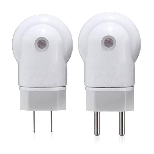 ILS - AC110-240V E27 Mikrowelle Radar Menschlicher Körper Sensor-Birnen-Lampenfassung Inhaber EU US-Stecker (Mikrowelle Transformator)