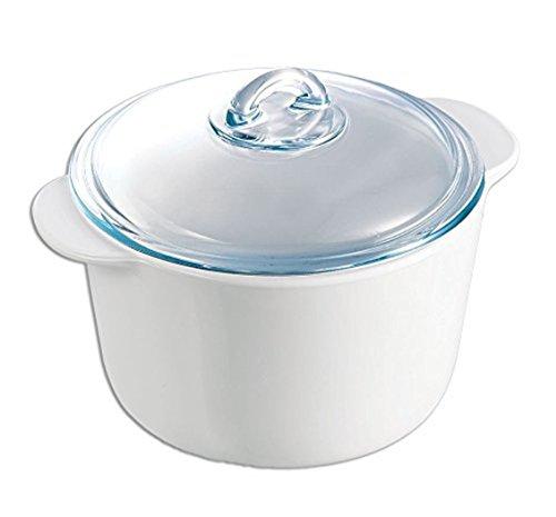 Pyrex 7715320 flame Kasserolle , rund, 5 L (5 Liter rund)