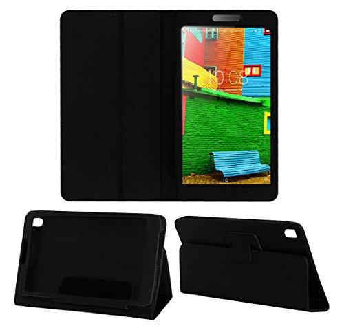 "Acm Executive Case For Lenovo Phab 6.98"" Tablet Front & Back Flip Cover Stand Black"