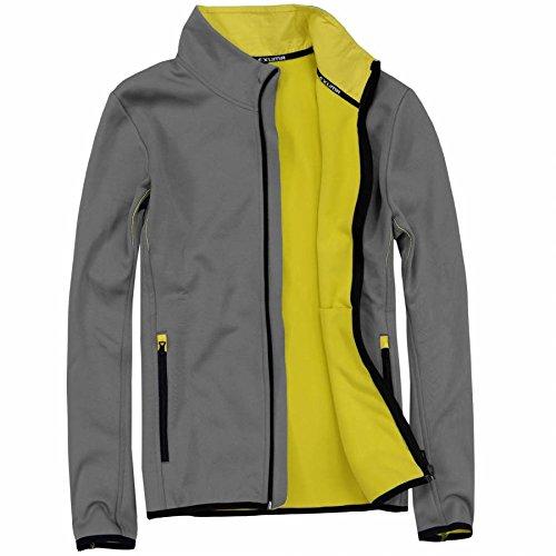 Peut également eXUMA veste softshell pour homme Gris - gris